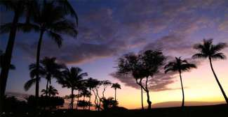 Kijk indien mogelijk elke avond hoe de kleurrijke zon aan de horizon ondergaat.
