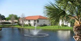 Mooi uitzicht vanuit uw appartement van de Shorewalks Vacation Villas