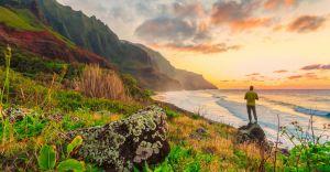 Hawaii Oahu strand