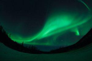 Noorderlicht in Fairbanks