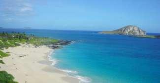 Heerlijke stranden van Oahu