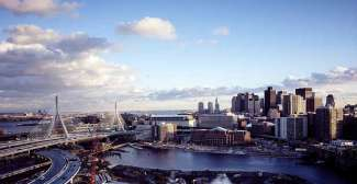 De grootste stad van New England is Boston