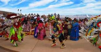 Hualapai Dancing at Eagle Point