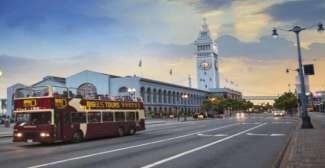 Hop-on-hop-off bustour in San Francisco