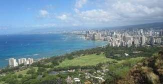 Vakantieoord Waikiki, op Oahu