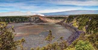 Bezoek tijdens uw vakantie deze krater op Big Island Hawaii