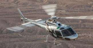 Helicopter vlucht boven de Grand Canyon