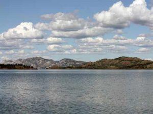Lake Laberge in Whitehorse