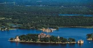 Coldt Castle vanuit de lucht.
