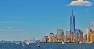 De Skyline in New York