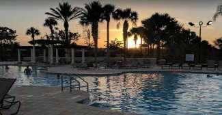 vakantiehuis Florida Orlando zwembad