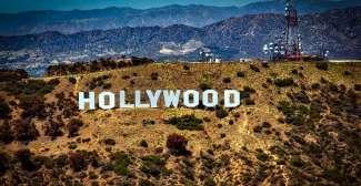 Wereldberoemd symbool voor de films op Mount Lee.
