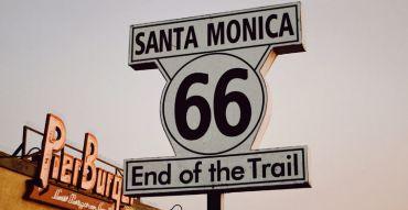 Der Endpunkt der Route 66, Santa Monica