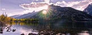 Overweldigend stukje natuur in Wyoming