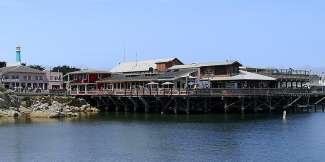 De Fisherman's Wharf is een bekend punt in Monterey.