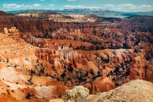 Rood zandsteen in Bryce Canyon