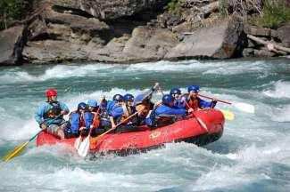 Rafting in Kananaskies Country