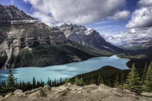 Peyto Lake in de Rocky Mountains