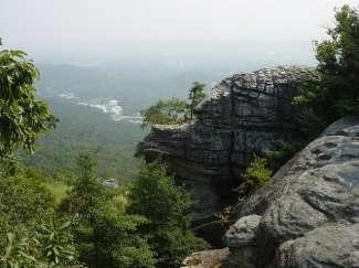 Chattanooga landschap