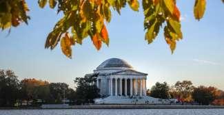 Thomas Jefferson Memorial in Washington, DC