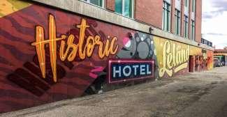 Downtown Kamloops (Tourism Kamloops - Rachel Lewis)