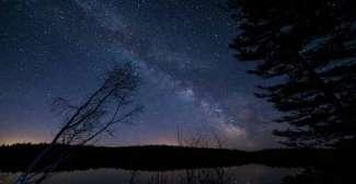 Heldere sterrenhemel