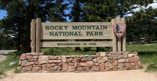 Bord Rocky Mountain National Park