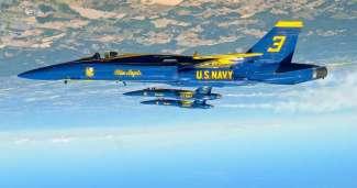 Blue Angels luchtshow