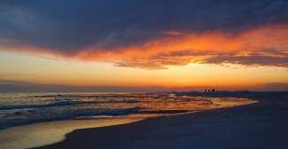 Zonsondergang Pensacola