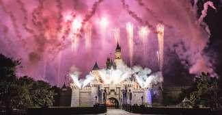 Vuurwerkshow in Walt Disney World Orlando