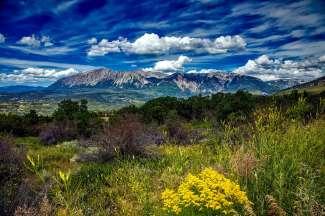 De imposante Rocky Mountains beginnen in New Mexico en strekken zich uit tot British Columbia in Canada.