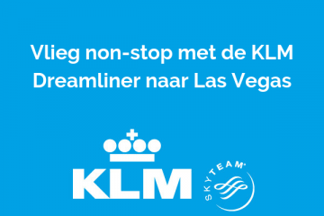 Non-stop naar Las Vegas met KLM