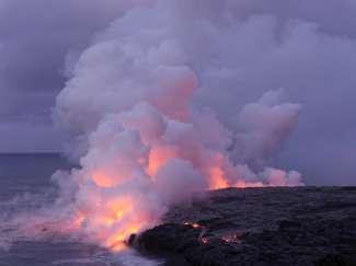 Stromende lava