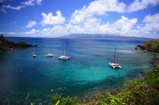 Maui is een geliefde snorkelbestemming.