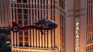 Vlieg in het helicopter over de Strip!