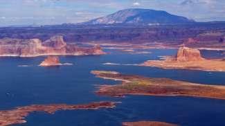Lake Powell is prachtig.