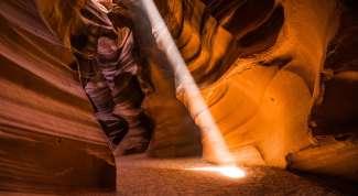 De Antelope Canyon Tour vindt plaats na of voor de vlucht.