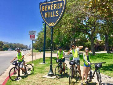 Op de fiets door Los Angeles