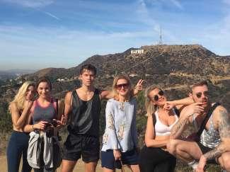 Neem je vrienden of family mee op deze Hollywood Hills Hike Tour.