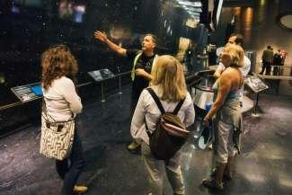 Er is ook een tour in het Griffith Observatory inbegrepen.