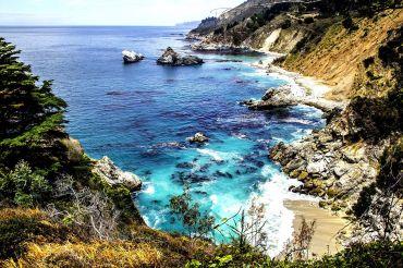 Big Sur Highway One Californië