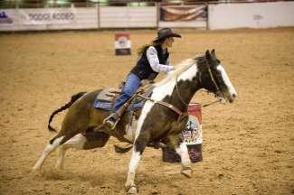 De Rodeo word regelmatig gehouden in Texas