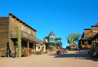 Ghost Town Goldfield