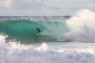 North Shore is vooral bekend om zijn grote golven.