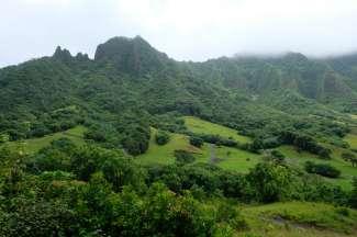 Kualoa Ranch wordt veel gebruikt in de films, zoals onder ander Jurassic Park en Kong.