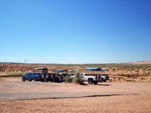 De Upper Canyon bereikt u per Jeep