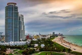 Coastline Miami Beach