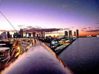 Skyline van Miami