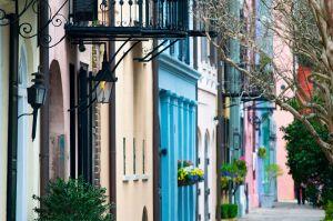 De kleurrijke straten van Charleston