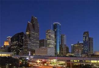De Skyline van Houston